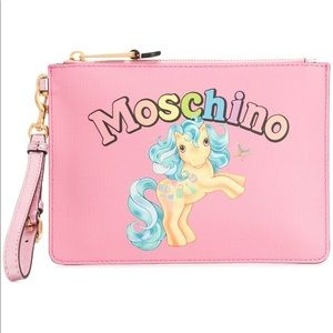 Authentic Rare! Moschino My Little Pony Clutch